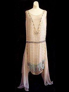 1924 Beaded Flapper Dress