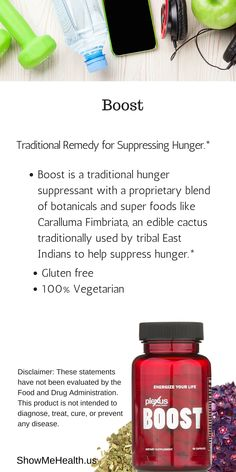 Plexus Boost is a traditional hunger suppressant with a proprietary blend of botanicals and super foods like Caralluma Fimbriata, an edible cactus traditionally used by tribal East Indians to help suppress hunger.* Get yours here: https://shopmyplexus.com/connieaunger/products/weight-management/plexus-boost/index.html *These statements have not been evaluated by the Food and Drug Administration. This product is not intended to diagnose, treat, cure, or prevent any disease.