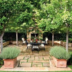 Garden Oasis Patio - Porch and Patio Design Inspiration - Southern Living