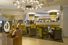 Lobby area Croydon, Park Hotel, Car Parking, Chandelier, Restaurant, Ceiling Lights, Room, Home Decor, Bedroom