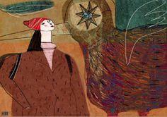 MartaToledo Ilustraciones: Tu viaje Drawings, Painting, Voyage, Illustrations, Art, Painting Art, Sketch, Paintings, Paint