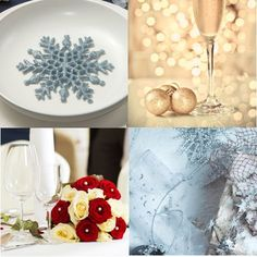 Adding Winter to your Wedding - get inspired with winter wedding ideas