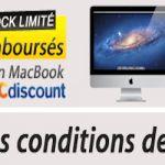 Promotions sur les ordinateurs Mac chez Cdiscount