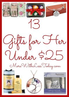 Gift Guide 13 Popular Ideas For Her Under 25