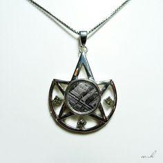 Gibeon Meteorite pendant