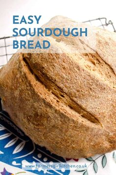 Use your bread machine to help you make this Easy Sourdough Bread. No starter required and no experience needed. Step by step instructions to help you achieve a delicious home-baked loaf Vegan Bread Machine Recipe, Sourdough Bread Machine, Bread Machine Recipes Healthy, Easy Sourdough Bread Recipe, Bread Maker Recipes, Easy Bread Recipes, Baking Recipes, Recipe Breadmaker, Delicious Recipes