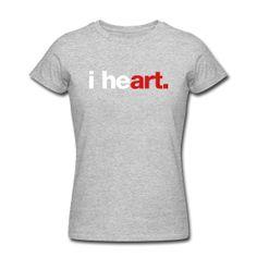i heart art T-Shirt ~ 453