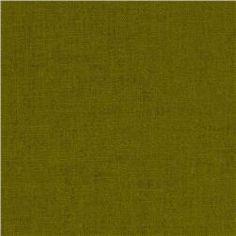 Kaufman Essex Linen Blend Jungle $6.98