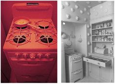 The Kitchen, 1972 Robin Weltsch Op Art, Stacked Washer Dryer, Washer And Dryer, Judy Chicago, Laundry, Home Appliances, Robin, Kitchen, Artists