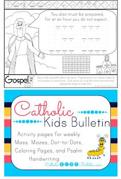 FREE Luke 102842 Jesus Mary and Martha Coloring Page Catholic