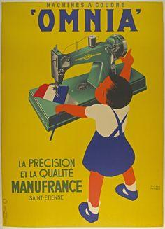 Machines à Coudre Omina