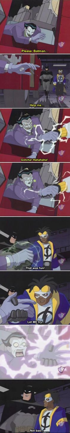 When I was younger, I never realized that Static Shock was DC