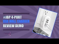 #JBP 4 Port USB Charger Unboxing & Review   Product's Amazon page = amzn.to/254Hjf5   What is there not to like? This wall charger has 4 USB ports and charges things at a good speed simultaneously. Good quality and simple design.