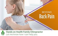 Chiropractic Clinic, Family Chiropractic, Holistic Approach, Back Pain, Safety, Join, Hands, Age, Children