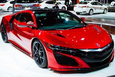 2015 NYIAS Roundup : 2016 Acura NSX - A twin turbo V6 augmented by four electric motors? Yeah, the long-awaited NSX revival can't get here fast enough.