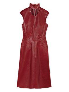 Lust: Derek Lam leather dress