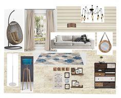 """комната 1"" by margarita-shoshina on Polyvore featuring interior, interiors, interior design, дом, home decor и interior decorating"
