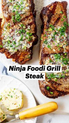 Gluten Free Recipes For Dinner, Healthy Gluten Free Recipes, Dinner Recipes, Summer Grilling Recipes, Strip Steak, How To Grill Steak, Specialty Foods, Salted Butter, Fresh Lemon Juice