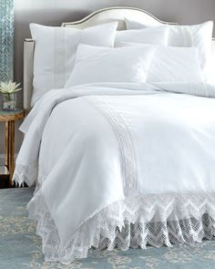 Cluny+Lace+Bedding+&+Liliput+275TC+Sheets+by+Rachel+Ashwell+at+Horchow.