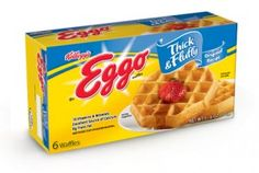 let go of my eggo....this new kind is simply my family's favorite!