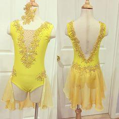 Custom made dance costumes Facebook @amparocostumes