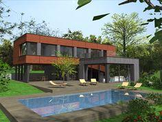 Garage Doors, Mansions, House Styles, Outdoor Decor, Home Decor, Mansion Houses, Decoration Home, Manor Houses, Villas