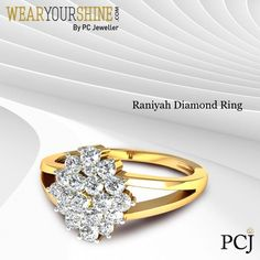 This meticulously crafted ring defines perfection in every sense. Visit our website to buy, ' The Raniyah Diamond Ring' by WearYourShine  #WearYourShine #PCJ #PCJewellers #IndianJewellery #Jewellery #Jewelry #Love #Cute #Diamond #Rings #DiamondRings #Diamonds #Likes #Follow