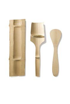 ♥ bambu utensil process