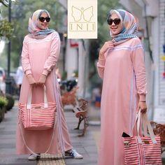 Moza Dress Col : Pink, Navi, Red, Black Mat : Babyterry Uk : All Size / One size Xl Ld 100 Pj… – light-lenses Motif Photo, Maxis, Overalls, Ootd, Swag, Blouse, Blazer, Model, Pink