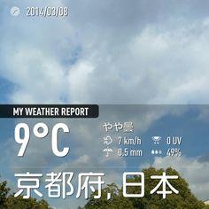 寒いけど、良い天気。。