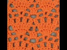Crochet : Punto Abanico # 7