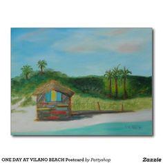 ONE DAY AT VILANO BEACH Postcard