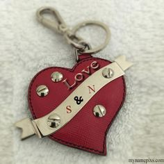 Write Your Name first Letter On Red Leather Keychain.Online create Leather Keychain Images With Your name Letter. Keychain Images, Love Keychain, Leather Keychain, Greeting Card Maker, Online Greeting Cards, Birthday Greeting Cards, Name Jewelry, Photo Jewelry, Create Name