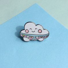 Thunderpants enamel lapel pin, perfect for those of you with a quirky side. Pin this little cutie onto your collar, bag or jacket for instant cuteness.
