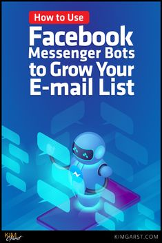 Build relationships with your messenger subscribers AND build your e-mail list at the same time using Facebook Messenger Bots.Hh via @KimGarst #emailmarketing #emaillist #facebookmarketing #facebookmessenger Facebook News, About Facebook, How To Use Facebook, Facebook Marketing Strategy, Online Marketing, Social Media Marketing, Digital Marketing, Using Facebook For Business, Facebook Messenger