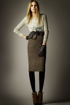 Burberry Prorsum Pre-Fall 2012 Collection on Style.com: Complete Collection