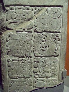 Ancient Civlizations: the Mayans: Mayan Glyphs, Colombian Culture, Project Blue Book, Aztec Art, Mexica, Blue Books, Stone Carving, Ancient Art, Mayo