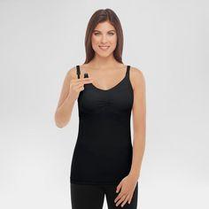 b2922e9ddf Medela® Women s Slimming Nursing Cami with Removable Pads - Black S    Target Nursing Bras