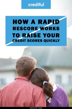 Everything you need to know about rapid rescoring, why it's used, when to use it and how it can help you qualify for a loan much faster. Raising Credit Score, Building Credit Score, Boost Credit Score, How To Fix Credit, Ways To Save Money, Money Saving Tips, Money Tips, Credit Repair Companies, Apply For A Loan