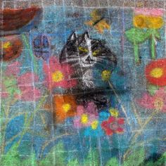 Middle School category — Square 103: 'Flower Cat' by Anthony Homsher, Faith George, Tomis Tillman, and Lucy Parker.