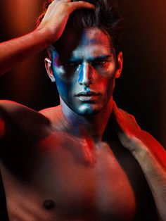 James Houston shoots handsome American male model Sean O'Pry for a series of beauty shots. Sean O'pry, Art Clipart, Top Models, Male Photography, Fashion Photography, Male Models Poses, Dark Portrait, Or Noir, The Fashionisto