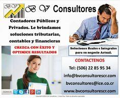 BV Consultores Costa Rica: ASESORIA FISCAL Ya sea si eres persona física o em...