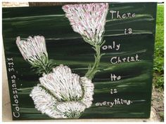 There is only Christ.   Colossians 3:11  $20.00