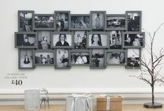 Buy 21 Aperture Collage Frame from the Next UK online shop Collage Frames, Aperture, Next Uk, Uk Online, Photo Wall, New Homes, Shop, House, Stuff To Buy