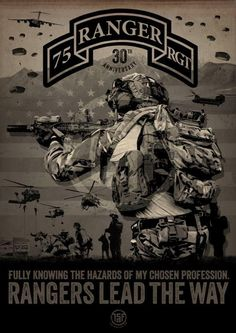 75th Ranger Regiment...
