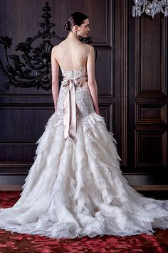Monique Lhuillier Spring 2016 Bridal Collection The Wedding Notebook Magazine