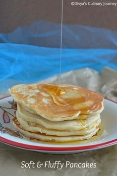 Soft and fluffy pancakes made from scratch. You wont need box mix again to make pancakes.
