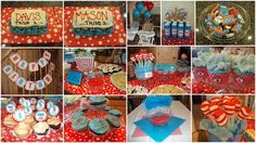 Dr. Seuss Thing 1/Thing 2  party...so fun!
