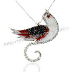 Gümüş Kuş Kolye -  - Price : TL99.90. Buy now at http://www.teleplus.com.tr/index.php/gumus-kus-kolye.html