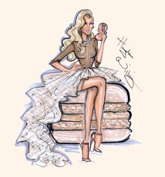 Hayden Williams Fashion Illustrations   Lady Macaron collection by Hayden Williams:...